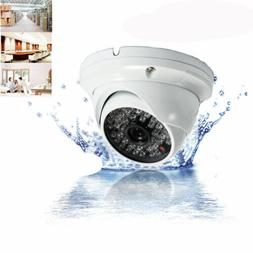 1000TV CMOS HD Wide Angle Dome IR-CUT Home CCTV Security Cam