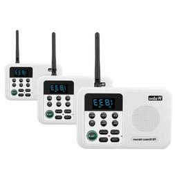 1 Mile Wireless Intercom System for Home Business Office Roo