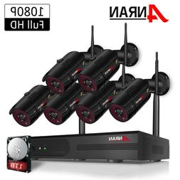 1080P CCTV Security Camera System Outdoor Home Wireless 8CH
