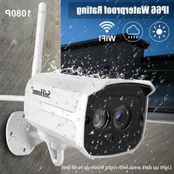 1080P Home Security Camera WiFi Wireless IP Surveillance Cam