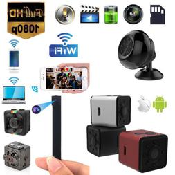 1080P Mini Spy Camera Wireless IP Hidden WIFI HD For Home Su