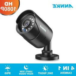 ANNKE 1080P Security Camera Black Bullet IR Night for HD DVR
