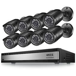 ZOSI 16 CH Channel 720P DVR  1500TVL Surveillance Security C