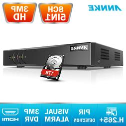 ANNKE 16CH/ 8CH/ 4CH 1080P HDMI DVR Video Recorder for Home