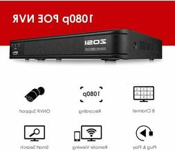 ZOSI 16CH DVR 1080P HDMI 4-in-1 Hybrid DVR Recorder for home