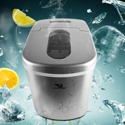 2.2L Countertop Portable Ice Maker for Home Bullet Ice cube