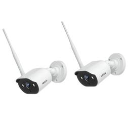 ZOSI 2PCS HD 1080p Wireless IP Camera Outdoor Home Security
