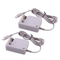2 X AC Home Wall Travel Charger Power Adapter Cord For Ninte
