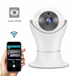360° Panoramic 1080P FHD Hidden Wifi Camera Smart Sensor Fo