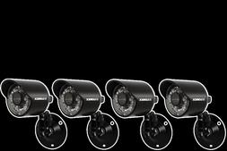 4 Pack Lorex Security Camera for Home with Night Vision CVC6