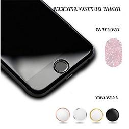 OWIKAR 4 Packs Home Button Sticker-Touch ID Button  for iPho
