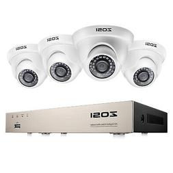 ZOSI H.265 8CH 5MP Lite DVR Security Camera System 1080p for