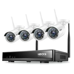ZOSI 8CH 1080p NVR 2MP Outdoor HD Wireless IP Home Security