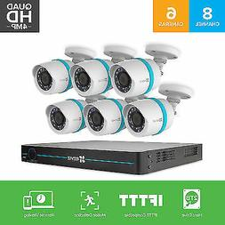 EZVIZ 4MP Smart Home Security Camera System IP POE, 8 Channe