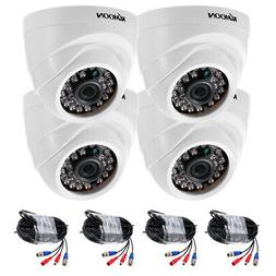 KKmoon 4pcs 1080P 2000TVL AHD CCTV IR Camera for Home Securi