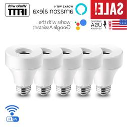 WiFi Smart E27/E26 Bulb Light Socket Adapter Switch For Goog