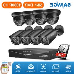 ANNKE 5IN1 8CH DVR 1080P HDMI Outdoor IR Night CCTV Security