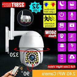 5MP 1080P WIFI IP Camera Wireless Outdoor CCTV HD PTZ Smart