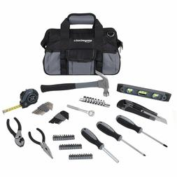 65-Piece Home Repair Kit, Basic Tool Set for Home/Office/Dor