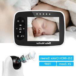 720P 360°Viewing Monitor 3.5inch Display 2x Digital Zoom Tw
