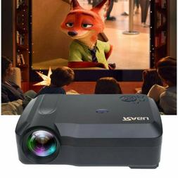 720P Home Video Projector 1080p for Home Movie by USB HDMI V