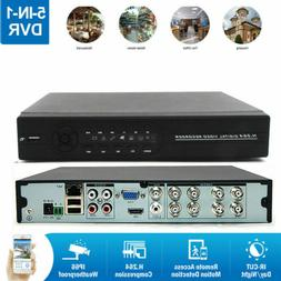 8CH 1080N 5-in-1 H.264 DVR Digital Video Recorder for Home C