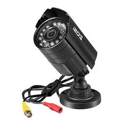 ZOSI 720P 4-in-1 HD TVI/CVI/AHD/CVBS 1280TVL 1.0MP Hi-Resolu