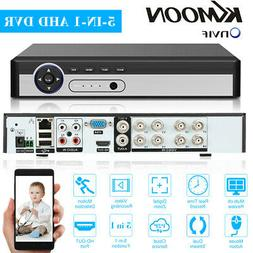 KKmoon 8CH 1080P H.265+ 5IN1 DVR Recorder for Home Security