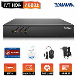 ANNKE 1080P Lite 4CH DVR 5in1 Video Recorder DVR For Home Se