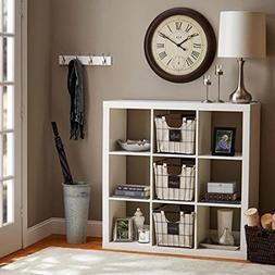 Better Homes and Gardens 9-cube Organizer Storage Bookcase B