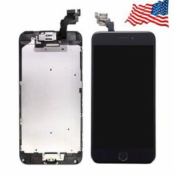 For iPhone 6 Plus 5.5'' Black LCD Touch Screen Digitizer Wit
