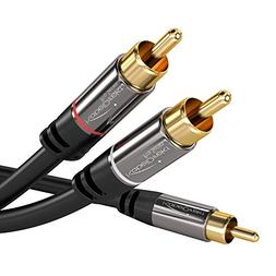 KabelDirekt RCA Stereo Cable / Cord  supports