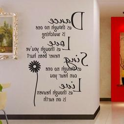 Wall sticker English Word letter Wall sticker For Home Livin