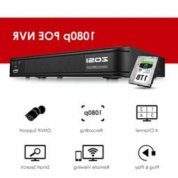 ZOSI HDMI 4In1 8CH 1080p DVR CCTV motion detection Security