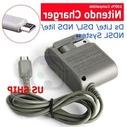 AC Adapter Home Wall Charger Cable for Nintendo Ds Lite/ DSL