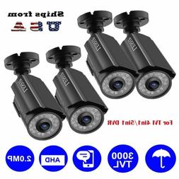AHD 1080P Bullet Camera Home Security Night Vision Outdoor f