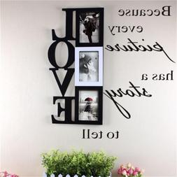 Because Every Picture has a story to tell vinyl wall sticker
