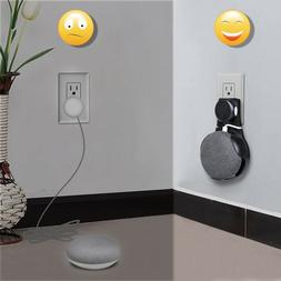 Black Outlet Wall Mount Holder Stand Hanger for Google Home