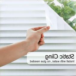 blinds window film pattern static cling privacy