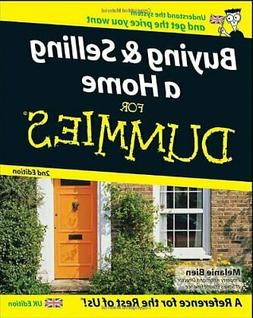 Buying and Selling a Home for Dummies : Uk Edition, Paperbac