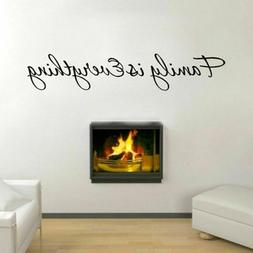 Family is Everything Vinyl Wall Sticker Art Mural Decals for