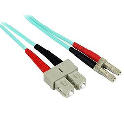 StarTech.com 1m Fiber Optic Cable - 10 Gb Aqua - Multimode D