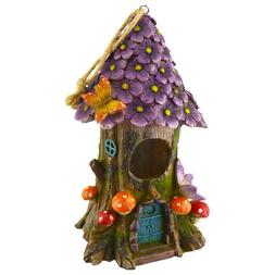 Flowers and Tree Fairy Bird House - DS