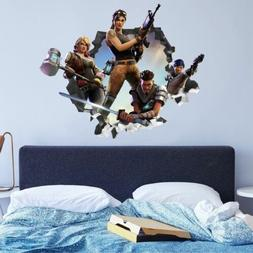 For Fortnite wall decals stickers mural home decor for bedro