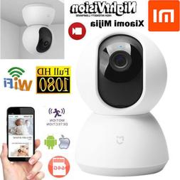 Hot Xiaomi Mijia 1080P Home Panoramic WiFi Camera Night Visi