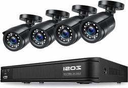 ZOSI 8CH 1080p DVR Vision Outdoor Home CCTV Security Camera