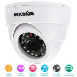 KKmoon HD 1200TVL Indoor Dome CCTV Security Camera Night Vie