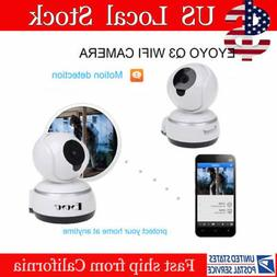 HD 720P WiFi IP Camera Home Security Surveillance Night Visi