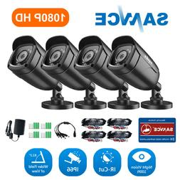SANNCE HD 1080P TVI 3000TVL CCTV IR Night Vision for Home Se