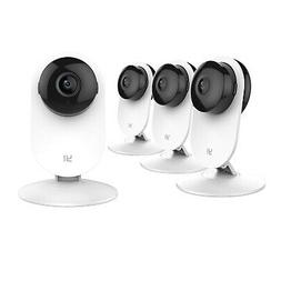 YI Home Camera 4pcs Wireless IP Security